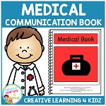 Medical Communication Picture Icons Book ~Digital Download~